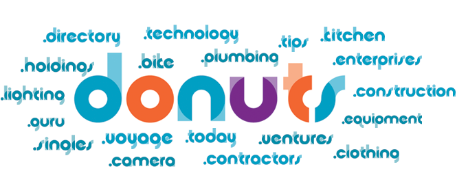 Donuts.Inc Domain Akkreditierung
