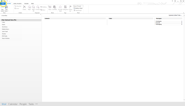 Step 2 - Microsoft Outlook 2013