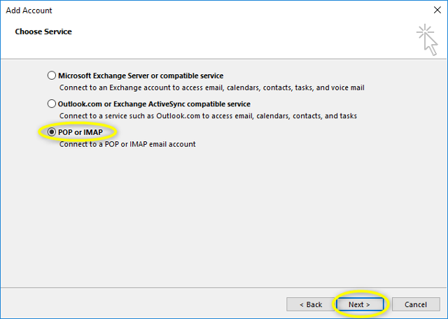 Step 5 - Microsoft Outlook 2013