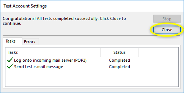 Step 9 - Microsoft Outlook 2013