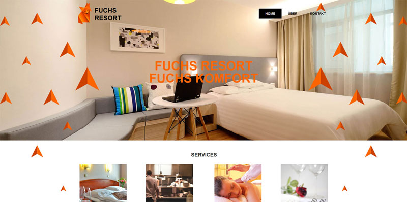 Homepage Baukasten Design 4
