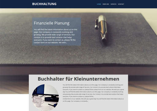 chilly.domains Homepage Baukasten Design 20