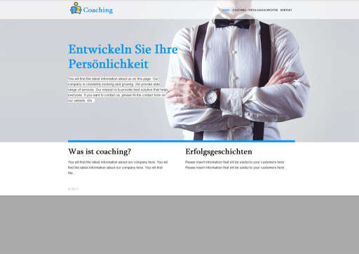 chilly.domains Homepage Baukasten Design 30
