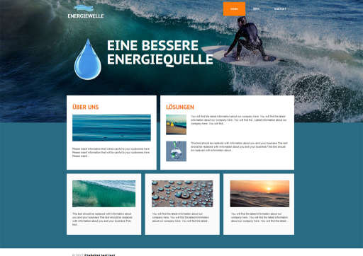 chilly.domains Homepage Baukasten Design 45