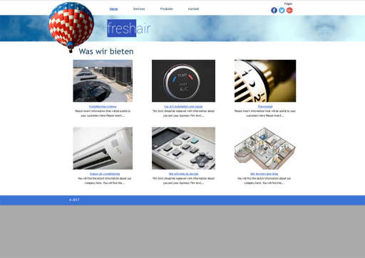 chilly.domains Homepage Baukasten Design 62