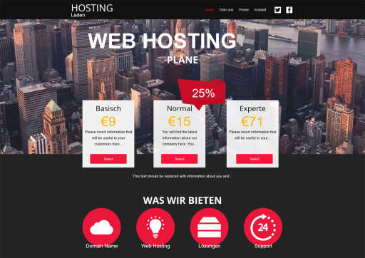 chilly.domains Homepage Baukasten Design 77