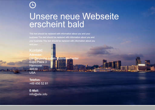 chilly.domains Homepage Baukasten Design 81