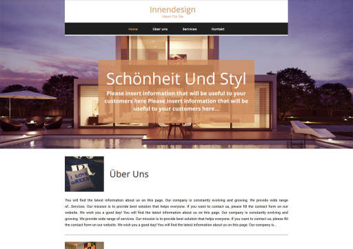 chilly.domains Homepage Baukasten Design 83