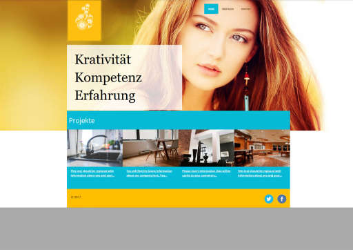 chilly.domains Homepage Baukasten Design 90