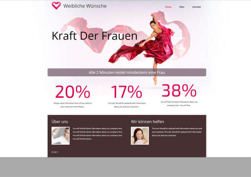 chilly.domains Homepage Baukasten Design 188
