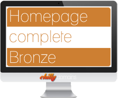 Hosting Homepage complete<br/>Bronze