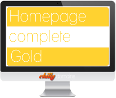 Hosting Homepage complete<br/>Gold